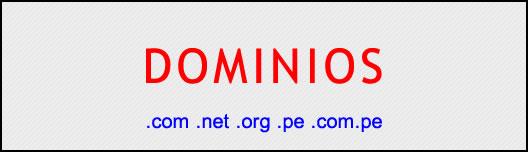 DOMINIOS: RESERVA, RENOVACIÓN Y TRANSFERENCIA
