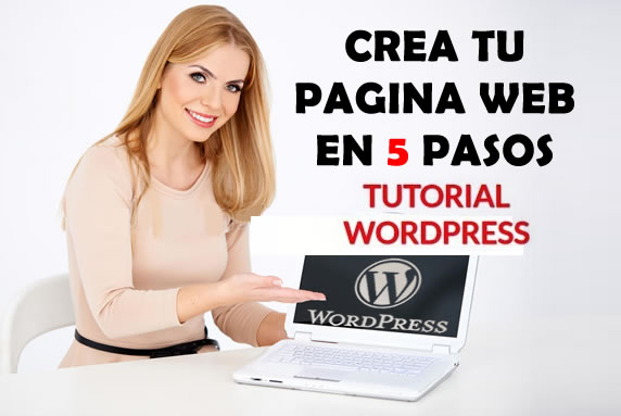 pagina web gratis con wordpress