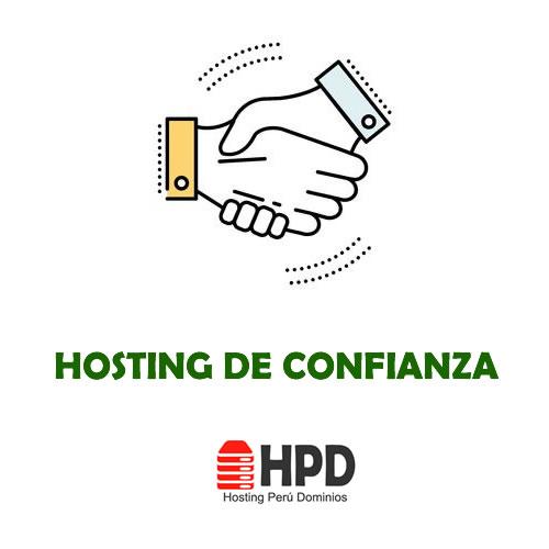 Hosting Web ConFiable Con el Que Puede CONTAR