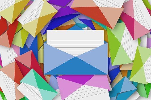 usar colores para separar los correos